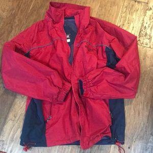 Men's windbreaker jacket med